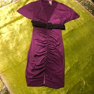 Belted baby phat dress